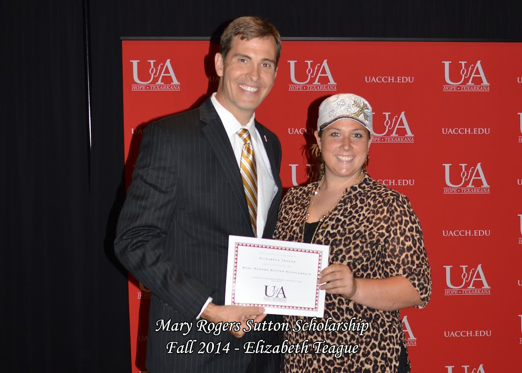 Scholarship Awards Ceremony Fall 2014 - Elizabeth%2BTeague.jpg