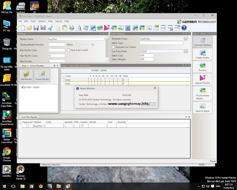Cài Đặt Lectra-Gerber-Optitex-StyleCad Trên Windows10 X64bit 11