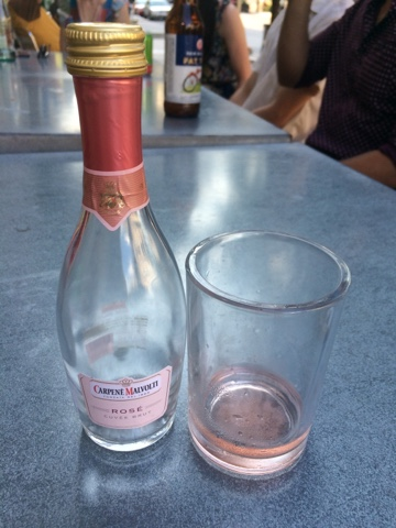 Sassy Wine Belly - Carpenè Malvolti Brut Rosé in a Single Serving Bottle