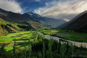 Incredible combination of Light & Shade at Phander Valley, Ghizer