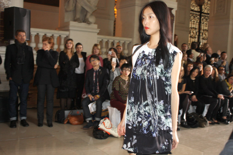sharon wauchob runway collection paris fashion week spring summer 2013
