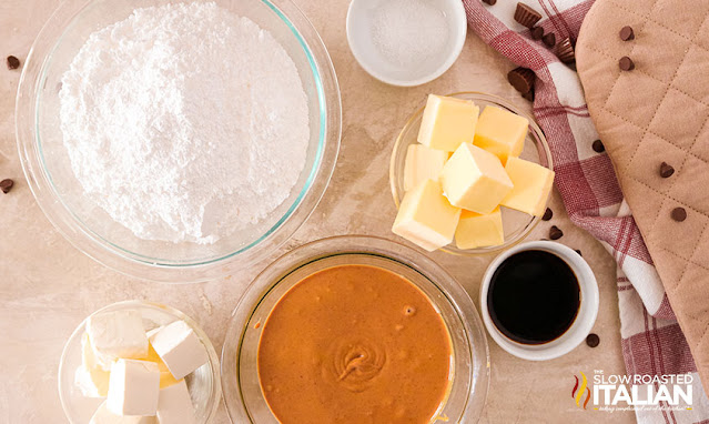 peanut butter fudge frosting ingredients