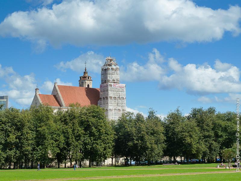Реставрация храмов в Вильнюсе идет полным ходом
