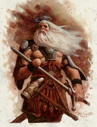 Tyr, Gods And Goddesses 6