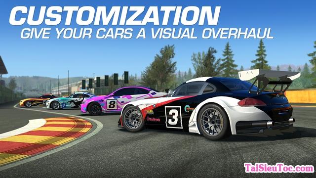 Những vòng đua hấp dẫn trong game Real Racing 3