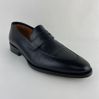 Jack Erwin NEW Black Penny Loafers