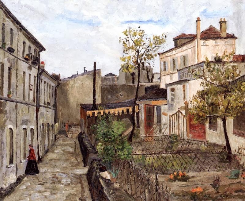 Armand Guillaumin - Montmartre