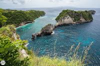 Nusa Penida, Seaweed farm, Suwehan and Atuh Beach