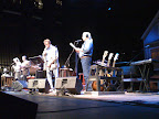 Arlo with Garrison Keillor on Prairie Home Companion.  Lost World Tour