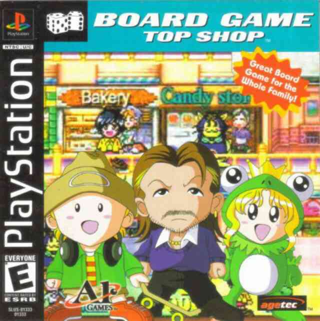 Top Shop PSX Cover