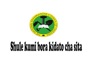 Shule kumi bora kidato cha sita 2021