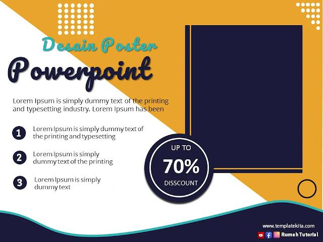 Download Template Poster Powerpoint 2016 Gratis