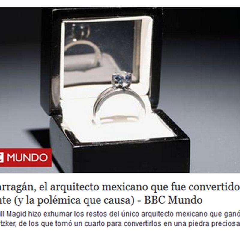 Luis Barragán, convertido en diamante
