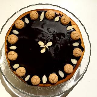 62 Amaretto Cheesecake (Sernik z amaretto).