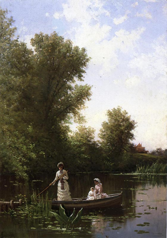 Alfred Thompson Bricher - Boating in the Afternoon