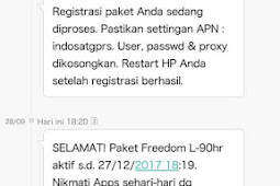 Trik Gratis Data Indosat Ooredoo