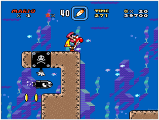 soda lake - super mario world