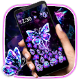 Neon Butterfly Gravity Theme