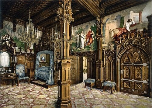 Bedroom, Neuschwanstein Castle