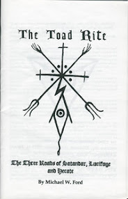 Cover of Michael Ford's Book The Toad Rite (The Three Roads of Satandar, Lucifuge and Hecate)
