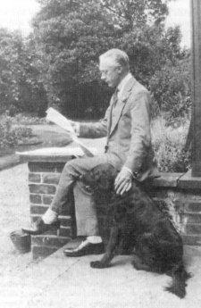 Frederick Matthias And Dog, Frederick Matthias Alexander