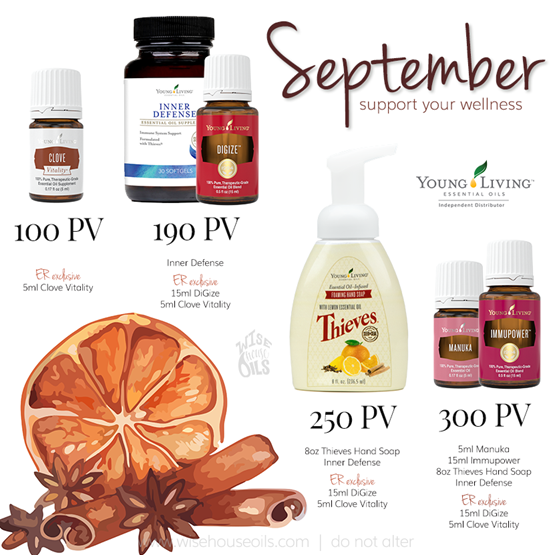 September 2018 Young Living Promo WHO