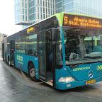Mercedes Citaro van Conexxion bus 9121 met lijn 5 naar Almere-Buiten Station Oostvaaders