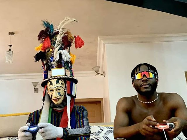 Igbo Rapper, Zoro engages the gods in a FIFA Battle