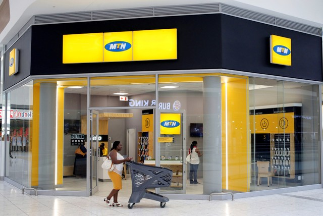 MTN's shares were down 2.6 percent at 0745 GMT after earlier falling over 3 percent.