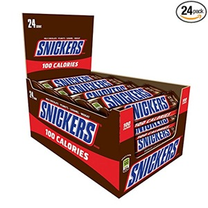 snickers 100 calorie
