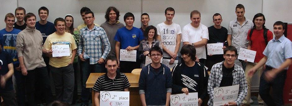 Gewinner beim CCC'12 Cluj