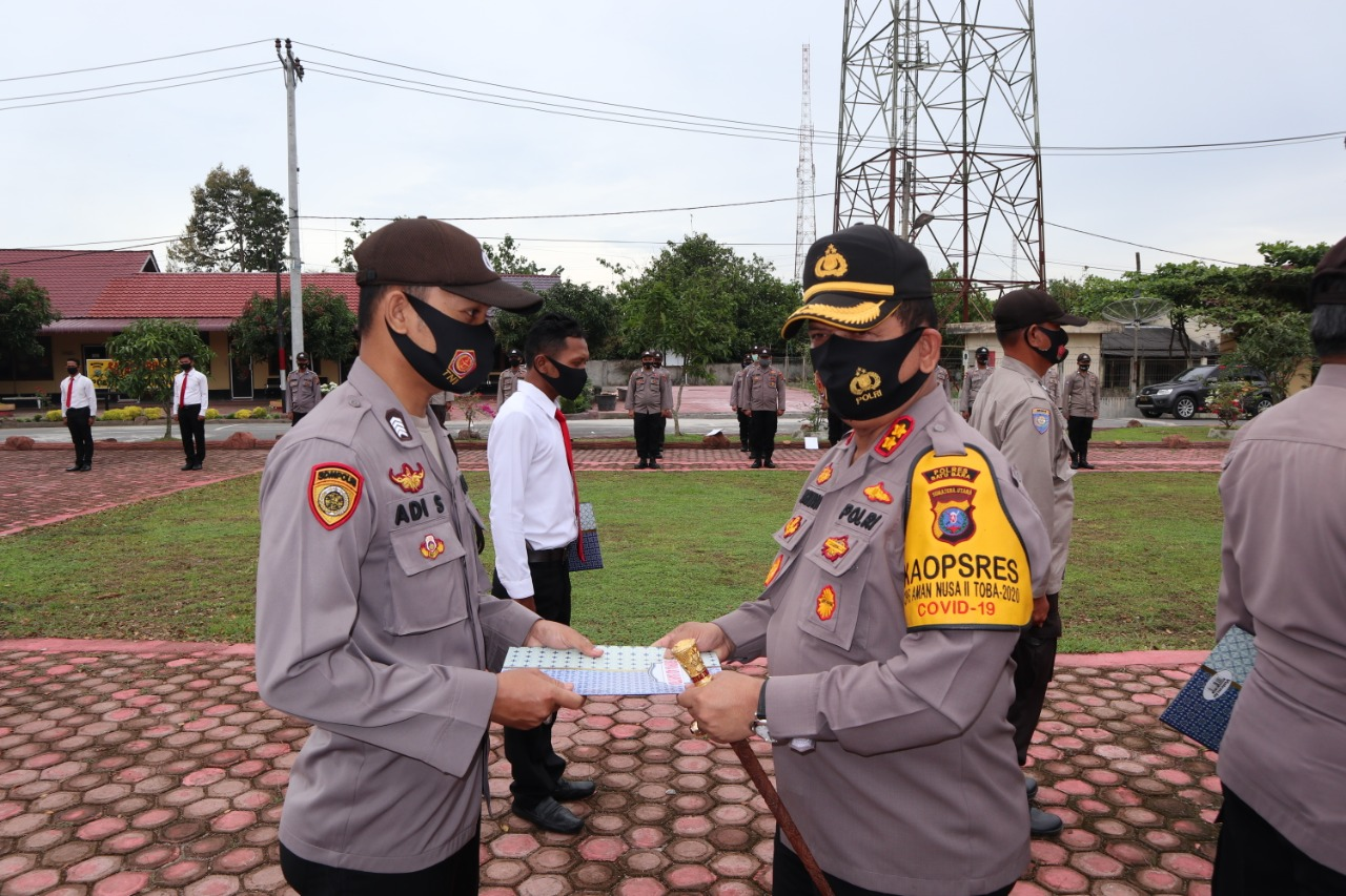 Bripka Adi Syahputra Dapat Aspresiasi Kapolres Batu Bara Sebagai Polisi Dakwah