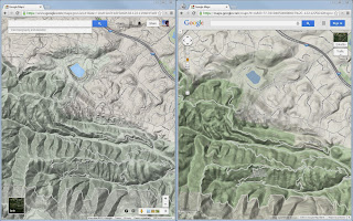 How Do I Get To The Terrain View With New Google Maps Google - Google maps topographic view