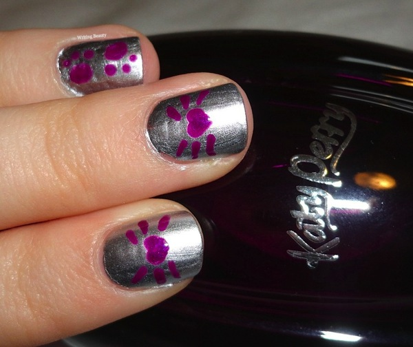 Katy Perry Purr Nail Art 2
