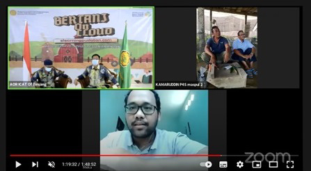 Kementan, Berbagi Ilmu Okulasi Durian melalui Bertani On Cloud