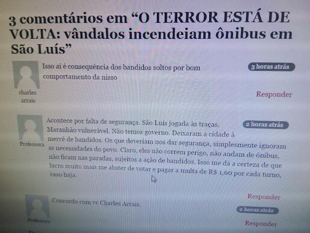 ETA LASQUEIRA: Secretário de segurança avisa bandidos para fugirem e empresários de ônibus aproveitam a desgraça para ganhar dinheiro.