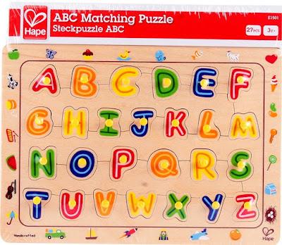 Bộ Ráp hình Chữ cái Hape ABC Matching Puzzle