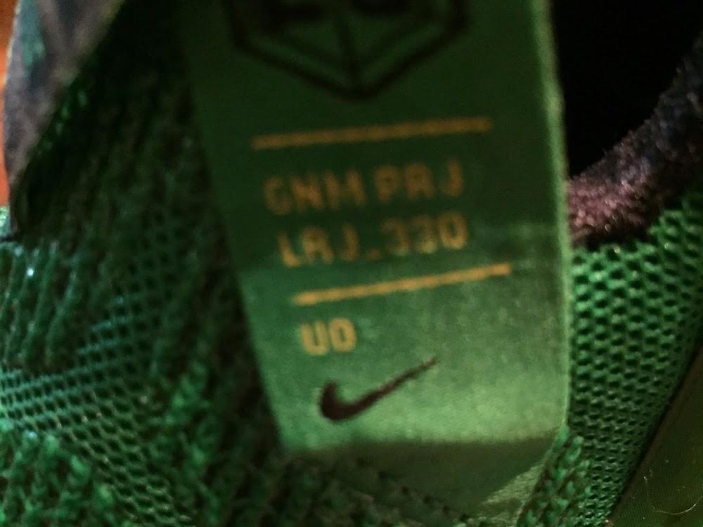 new york 8ff43 cf2a1 ... PE Spotlight Nike LeBron 12 Oregon Ducks Away PE