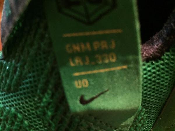 PE Spotlight Nike LeBron 12 Oregon Ducks Away PE