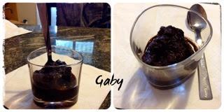 Granita cacao e cannella