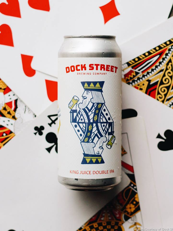 Dock Street Releasing King Juice DIPA & Guava Lava Cans