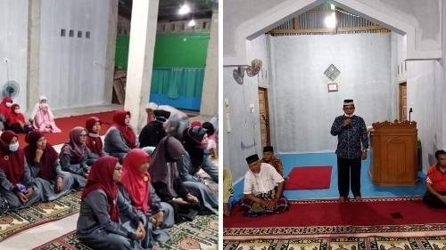 Foto Zulhardi Zakaria Latif. Anggota DPRD Kota Padang Serahkan Bantuan untuk Mushalla Miftahul Jannah Komplek Karya Rei.
