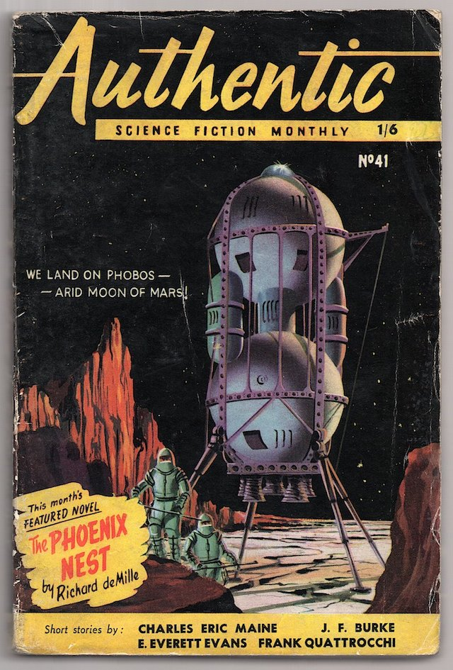 Authentic Science Fiction Monthly (January 1954) British