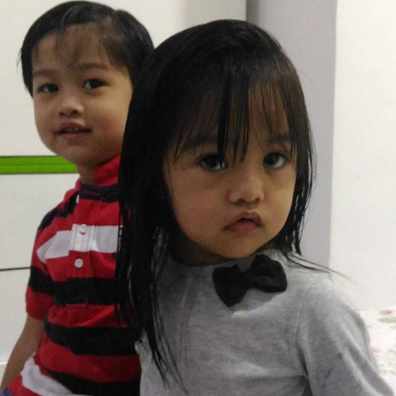 Zahra cemburu pada adiknya ?