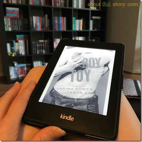 Review: Boy Toy (Man Hands #3) by Sarina Bowen and Tanya Eby   About That Story