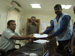 Nomination filing - Jaiganesh - Chennai South