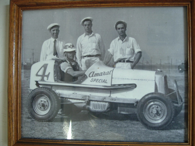 Uncle Joe Amaral on the far right was owner and wrench.