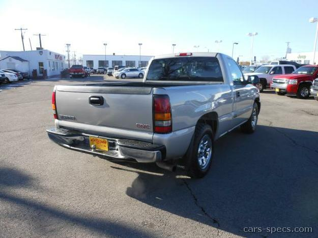 2001 gmc sierra 1500 regular cab specifications pictures prices. Black Bedroom Furniture Sets. Home Design Ideas