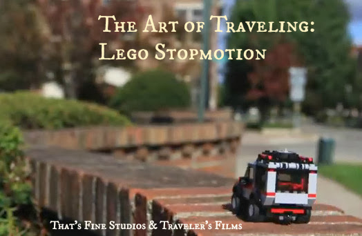 The Art of Traveling: Lego Stopmotion