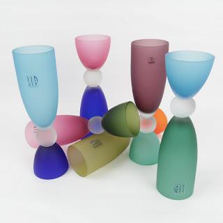 Murano LIP Reversible Wine & Cocktail Glasses